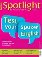 Englisch Fachzeitschrift English SpotLight Unterrichtsmaterial ...